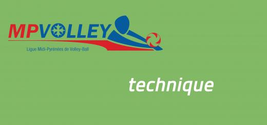 Informations techniques de la Ligue Midi-Pyrénées de Volley-ball
